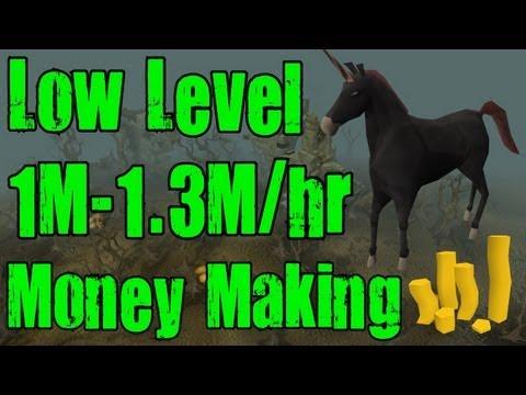 Runescape 3 – LOW LEVEL 1m-1.3m Per Hour Money Making Guide – Killing Black Unicorns