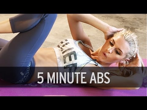 5 Minute Ab Workout