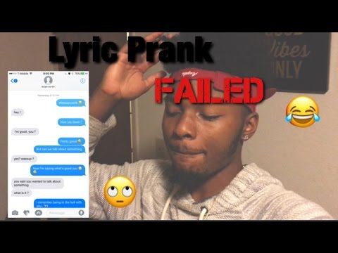 Lyric Prank (Failed) With Aboogie Still Think About You