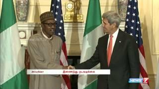 John Kerry Meets with Nigerian President