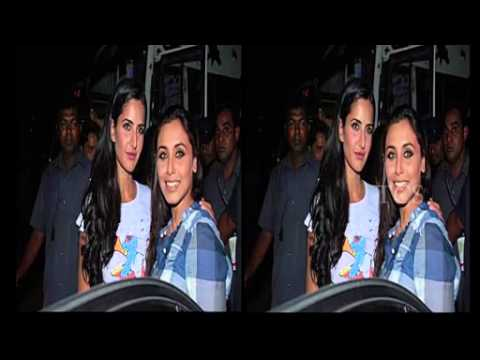Katrina Kaif & Rani Mukherjee Kiss Leaked   Video Dailymotion video