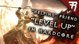 Diablo 3 gameplay: Hardcore friend killing (stream highlight)