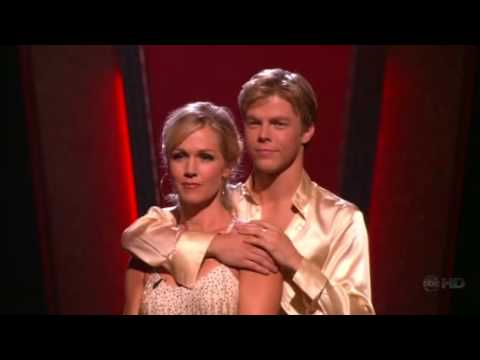 Jennie Garth and Derek Hough DWTS - Voted Off Week 9, Season 5