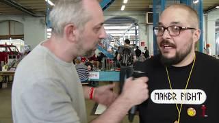 Do it yourself !! BattleBots, print 3D, cosplay, couture ...c'est au maker fight à mulhouse