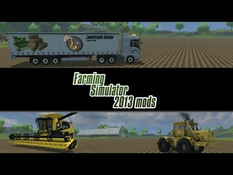 Farming Simulator 2013 Mod Spotlight - S2E7 - Mammoet Trailer. Power Washer. and Trucks