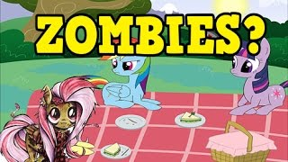 PONY PLUSHIES COMIC A SIMPLE SOLUTION FOR ZOMBIES