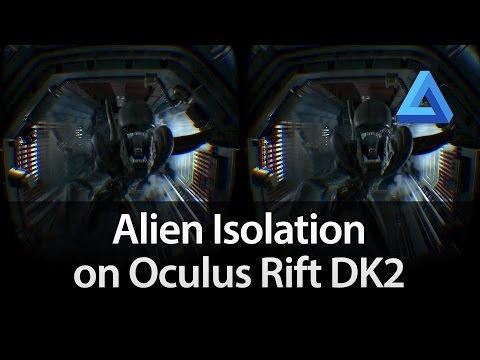 Alien Isolation on Oculus Rift DK2