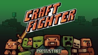 CraftFighter Review + Download (Minecraft Street fighter)