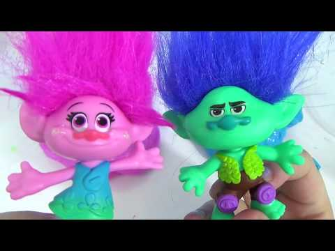 D.I.Y. DREAMWORKS TROLLS MOVIE Poppy Branch,  Do It Yourself Glue SLIME RECIPE Putty