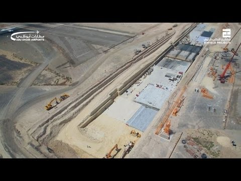 Abu Dhabi International Airport's Southern Runway expansion and Airside Tunnel make progress