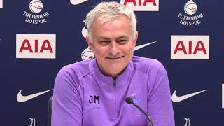 Jose Mourinho Interviews Himself During Tottenham's Transfer Deadline Day Press Conference 🤣