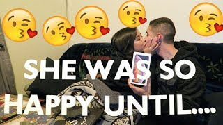 SURPRISING THE WIFE WITH A NEW IPHONE XS PRANK!! (SHE WAS PISSED)