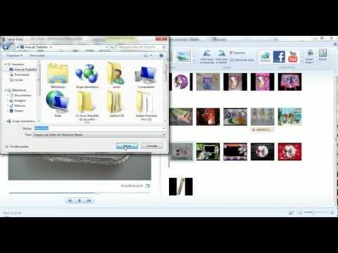 Salvando projeto no Movie Maker em formato de DVD