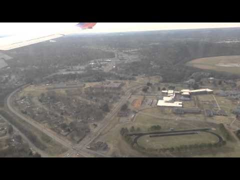 Landing at Nashville International Airport