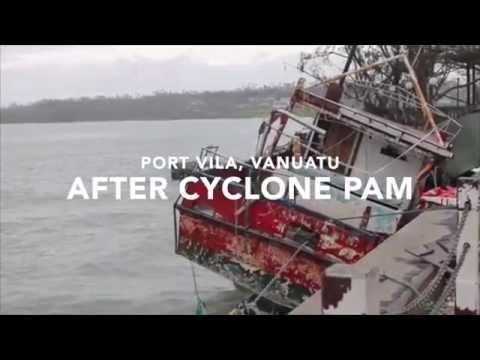 Port Vila, Vanuatu After Cyclone Pam