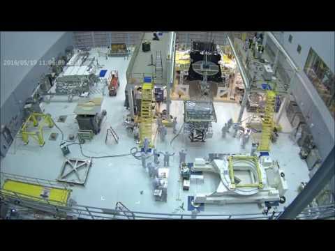Time-lapse: James Webb Space Telescope Instrument Installation