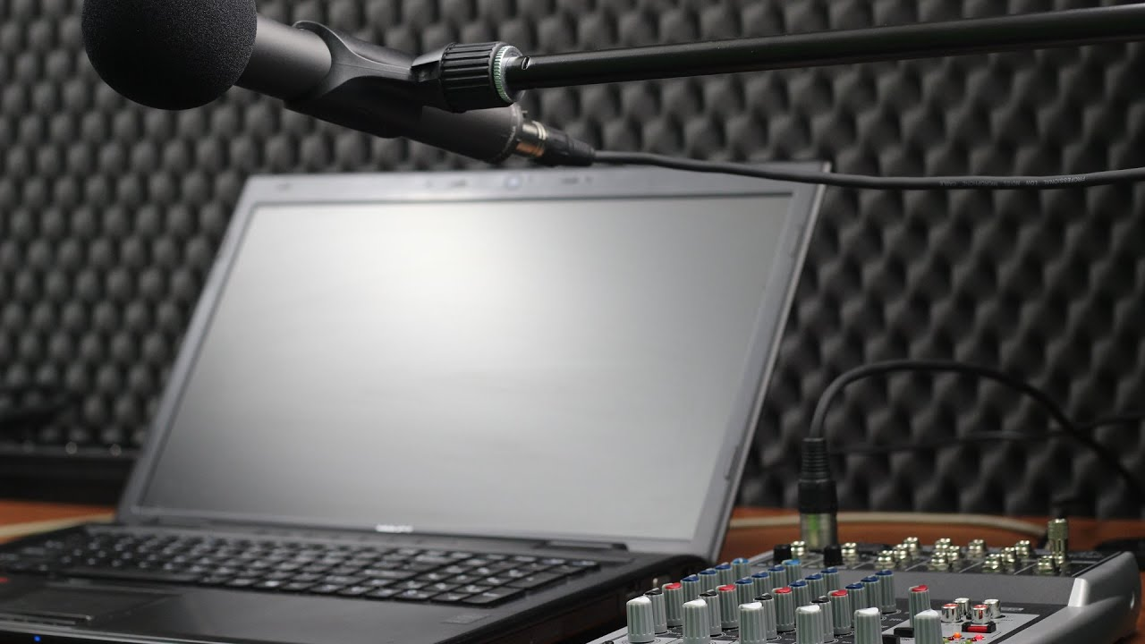 Rode M3 microphone & Behringer xenyx 802 USB test podcast Røde
