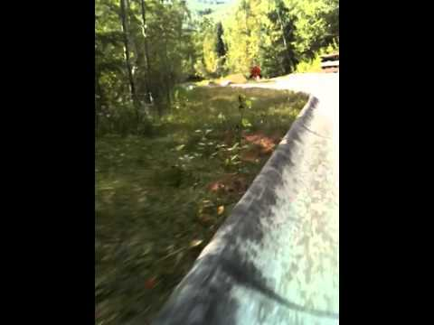 The Alpine Slide at Lutsen Resort, Minnesota