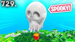 *SPOOKY* NEW AIRDROP?! - Fortnite Funny WTF Fails and Daily Best Moments Ep.729