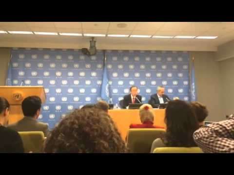Ban Ki-moon end of the year Press Conference