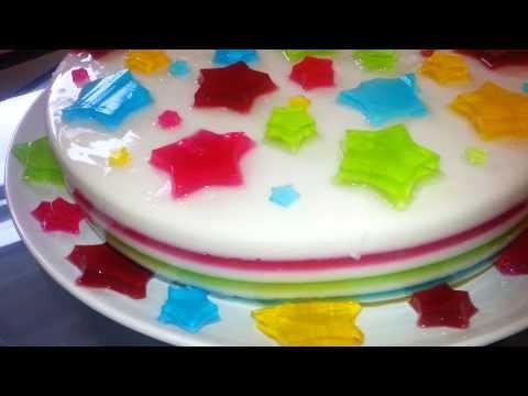 gelatinas decoradas la flor de mayo