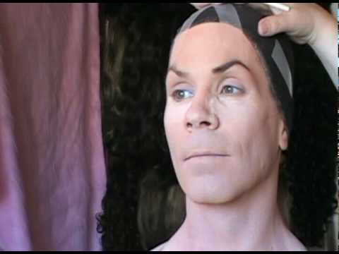 Crossdresser Makeup Tutorial Pt  4 Eyebrow Shaping