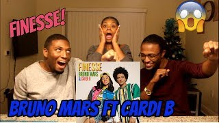 Download Lagu Bruno Mars - Finesse (Remix) [Feat. Cardi B] [Official Video] (REACTION) Gratis STAFABAND