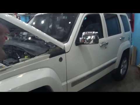 jeep liberty KK 2010. Problemas eléctricos con el Aire Acondicionado (DTC: B210B)