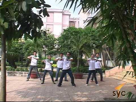 Dân vũ_Trong com_Trung tâm Thanh thiếu niên miền Nam