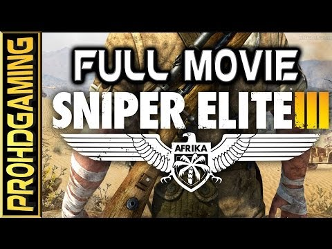 Sniper Elite 3 (PC) I The Movie I [Full HD]