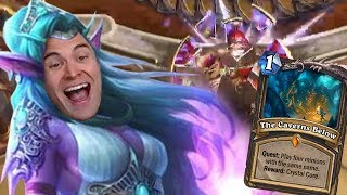 (Hearthstone) How To Beat Quest Rogue With Priest