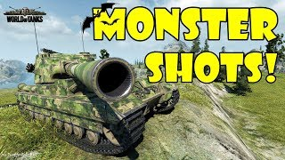 World of Tanks - Funny Moments | MONSTER SHOTS! (April 2018)