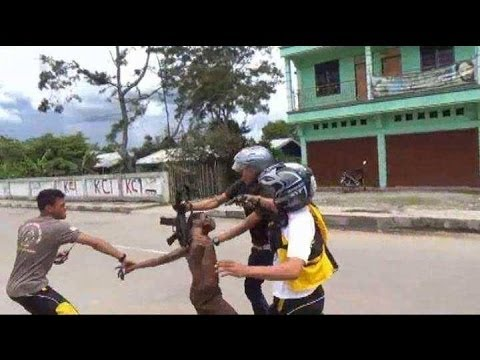 Indonesian police brutally beat West Papuan student in Wamena