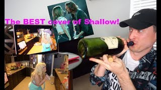 "Reacting to Trisha Paytas BEST COVER OF ""SHALLOW"" EVER! (BETTER THAN LADY GAGA)"