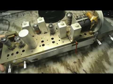 Live From the Workshop...Real Time Repair, 1960 Delmonico Tube Radio