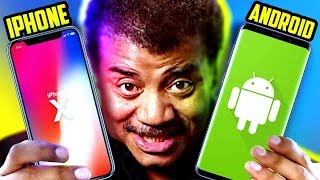 Why Iphone Is Better Than Android Neil Degrasse Tyson
