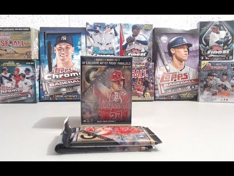 2017 Topps Gallery Baseball Blaster Box & 2 Rack Packs