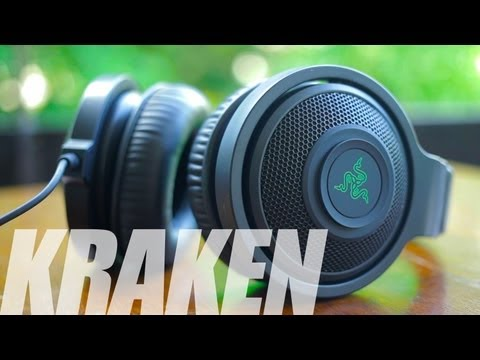 Razer Kraken (Black) Headphones Review