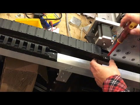 DIY CNC Router Energy Chain - Cable Management Part 2 (Ep 26)