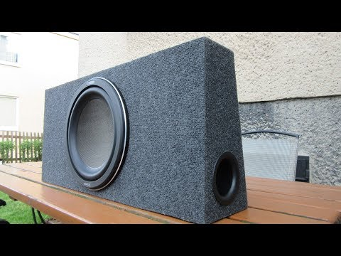 Making a Car Subwoofer Box