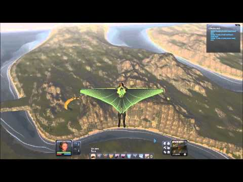 Planet Explorers - 5.8km glider flight