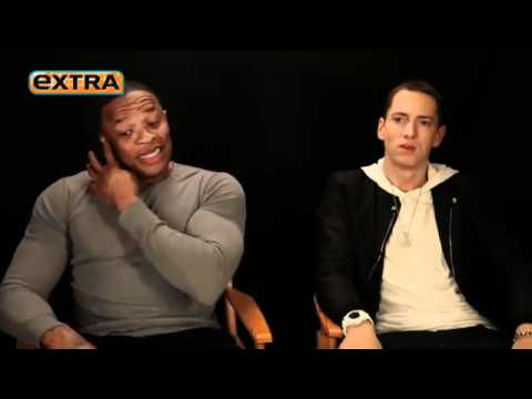 Eminem & Dr. Dre Interview (NEW) - Talk about I Need A Doctor Video