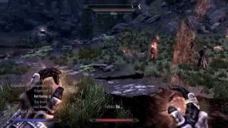 The Elder Scrolls V_ Skyrim-Alduin Battle NVIDIA GeForce GT 520M