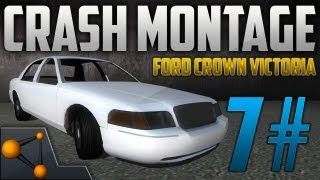 BeamNG DRIVE Revolutionary Soft Body Physics Car Crashes 7# - Ford Crown Victoria Mod [HD]