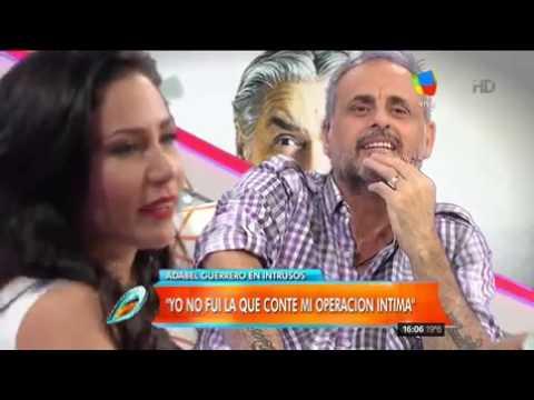 Adabel Guerrero, destrozó a Pettinato: Fue ordinario y maleducado