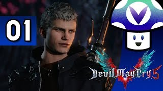 [Vinesauce] Vinny - Devil May Cry 5 (part 1)