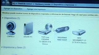 Como compartir una impresora en 2 equipos windows 7