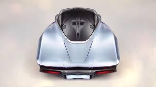 Luxo e ostentação: McLaren Speedtail tem acabamento em ouro e prata