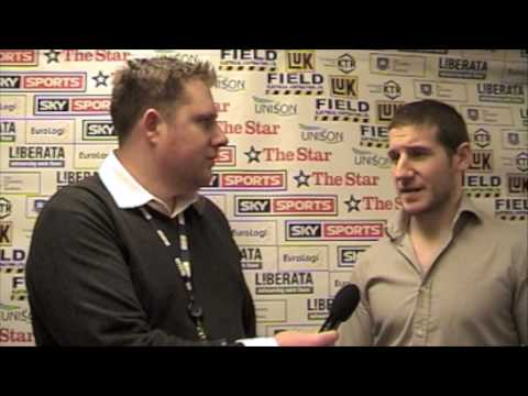 Jonathan Phillips Post-Game Interview - Blaze, 26/02/2009 Video