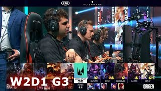 Fnatic vs Origen | Week 2 Day 1 S9 LEC Summer 2019 | FNC vs OG W2D1